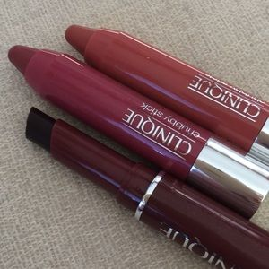 Clinique 2 piece Tinted Lip Balms